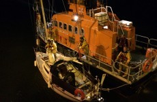 English woman rescued after her racing yacht became stranded off Cork