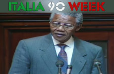 'Congratulations also to your wonderful football team' – Mandela part of Italia 90 homecoming