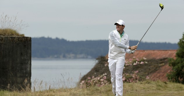 McIlroy left frustrated by US Open greens as Stenson and DJ set early pace