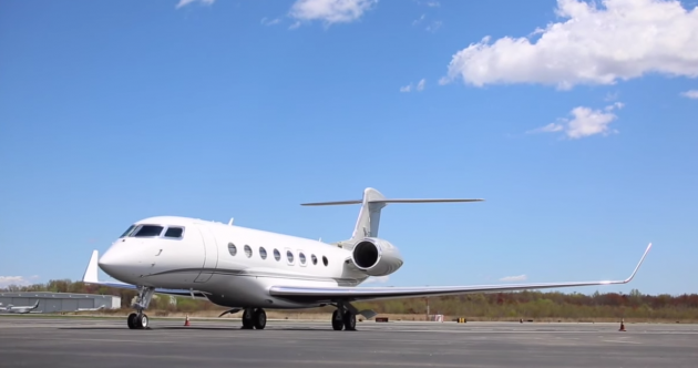 Denis O'Brien's private jet is up for sale