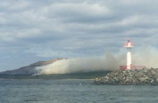 Firefighters continue to battle gorse fire on Ireland's Eye