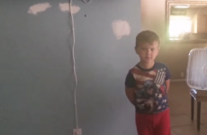 This little boy has a completely foolproof way of stealing chocolate bars
