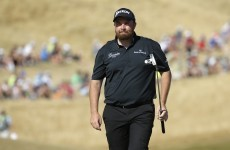 It couldn't be tighter at the top of the US Open and Shane Lowry is right in the mix