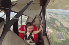 This pilot took his daughter on a stunt plane for the first time, and she bloody loved it