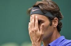 Watch Pep Guardiola school Roger Federer at tennis