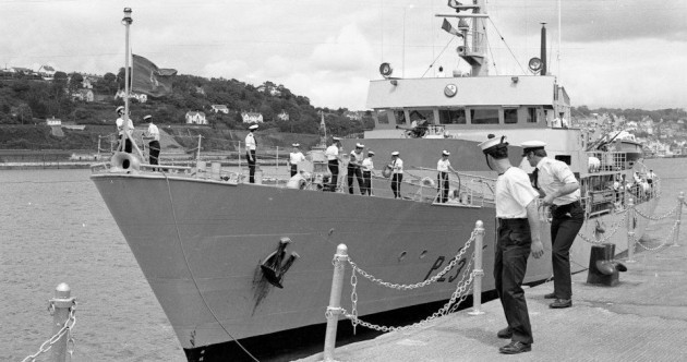 30 years ago, the Irish navy began the search and rescue in 'shark infested' waters for victims of Flight 182