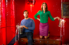 Catastrophe's jokes about Irish dads and pregnancy are going down a storm in the US