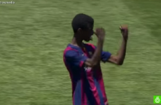 This Barcelona wonderkid is better at football than you