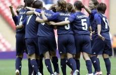 The Japanese ladies scored this fabulous team goal last night
