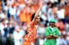 THAT Marco van Basten volley is 27 years old today · The42