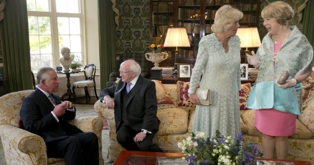 Here's how much Princes Charles' visit to Ireland cost the taxpayer