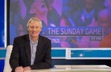 RTÉ's Michael Lyster is hoping to be back on The Sunday Game by the end of July