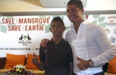 The incredible story of the tsunami survivor who has followed in Ronaldo's footsteps