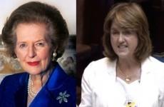 Joan Burton compared to Margaret Thatcher (again)