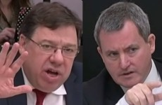 Watch a bullish Brian Cowen clash with this Fine Gael TD... loads