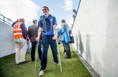 Two hurls, towels, and some quick thinking set Pauric Mahony on his road to recovery
