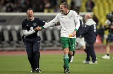 Gallery: Irish take unlikely point from Moscow mission