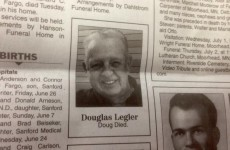 This man's to-the-point obituary is going viral