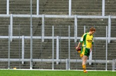 The last time that Colm Cooper was dropped by Kerry, it only lasted half-an-hour