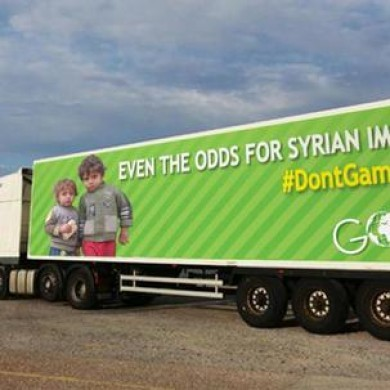 This is GOAL's response to Paddy Power's immigrant ad