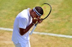 The stupidity of Wimbledon's strict dress code moved from bras to headbands today