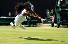Wimbledon's great entertainer Dustin Brown pulls off outrageous drop shot