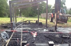 Club ruined by fire are down to their last two footballs…