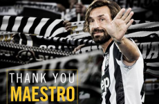 'Grazie, Maestro' – Juventus bid farewell to Pirlo as he completes New York move