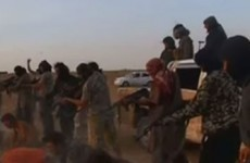 Bank staff fired after filming mock Islamic State-style execution