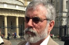 Gerry Adams hits out at idiots and imbeciles