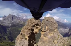This is 'possibly the most difficult Base jump ever'