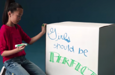 People reckon this campaign about 'girls' limitations' is pretty inspiring