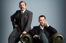One single image from the Sherlock Christmas special was released, and Twitter erupted