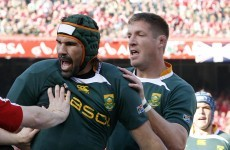 Pienaar and 'Boks up against Botha and 7 more Toulon stars in World XV
