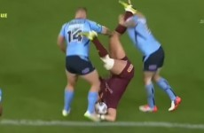 As usual, there was plenty of dirty hits in yesterday's State of Origin game
