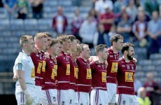 The Westmeath team for Sunday's Leinster final has been named