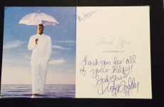 Sean 'P Diddy' Combs has a picture of himself on his stationery