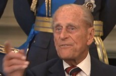 """Just take the f*cking picture"" says a fed-up Prince Philip"