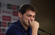 'Remember me as a good person' – Casillas in tears as he bids farewell to Madrid