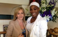 """JK Rowling hit a Twitter user with an uber-painful burn after he suggested Serena Williams is """"built like a man"""""""