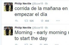 Phil Neville demonstrated the dangers of Google Translate with this embarrassing tweet