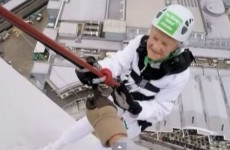 Watch this 101-year-old break her own abseiling world record