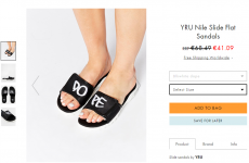 ASOS has missed a major flaw in these 'dope' sandals