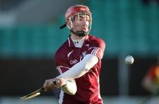 2011 All-Ireland minor hero in historic Galway intermediate hurling team