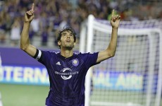 Kaka rolled back the years with this magnificent goal for Orlando last night
