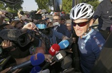 Lance Armstrong embarks on controversial Tour de France stage