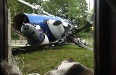 Man arrested over pub helicopter crash is released