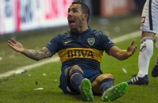 Carlos Tevez's Boca Juniors debut overshadowed by team-mate's incredible rabona