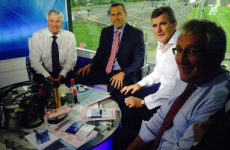 Brilliant to see Michael Lyster back on RTÉ's The Sunday Game today