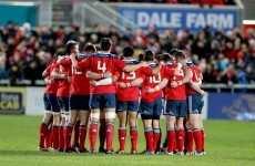 Who are the Irish provinces playing in the pre-season?
